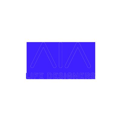 Logo AIA Life Designers, partenaire de Maison·g